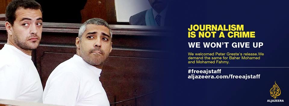 Egypte: verdict de nouveau reporté pour les journalistes d'Al-Jazeera