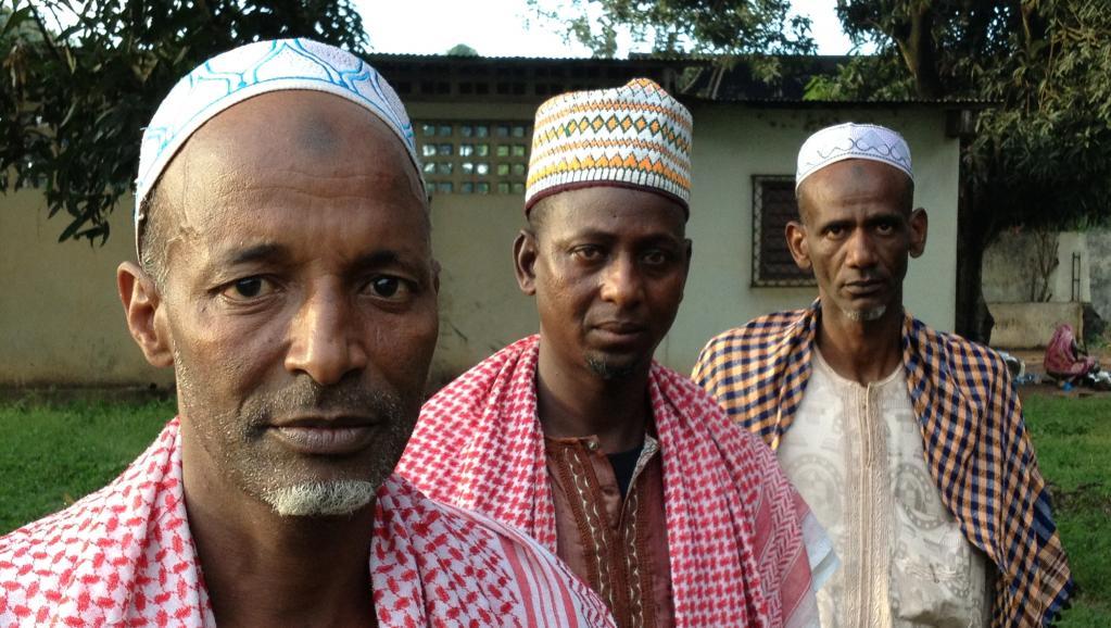 Des éleveurs peuls en Centrafrique. Laurent Correau / RFI