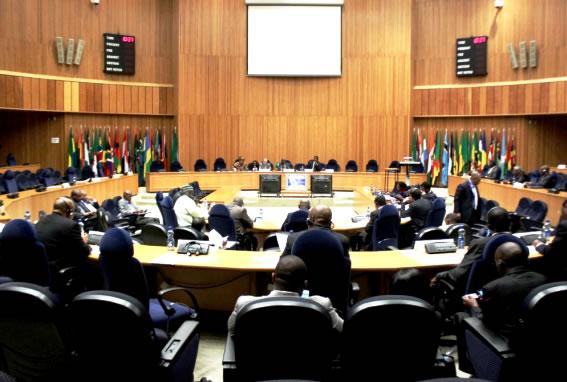 Le conseil de paix et de sécurité de l'Union Africaine.