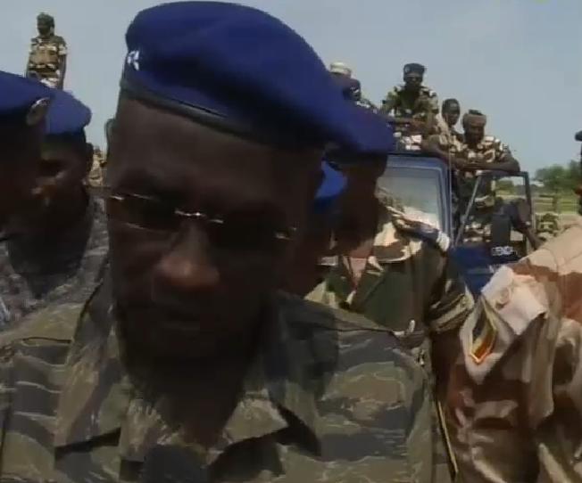Le Directeur général adjoint de la Gendarmerie nationale, le général de Brigade Idriss Moura.