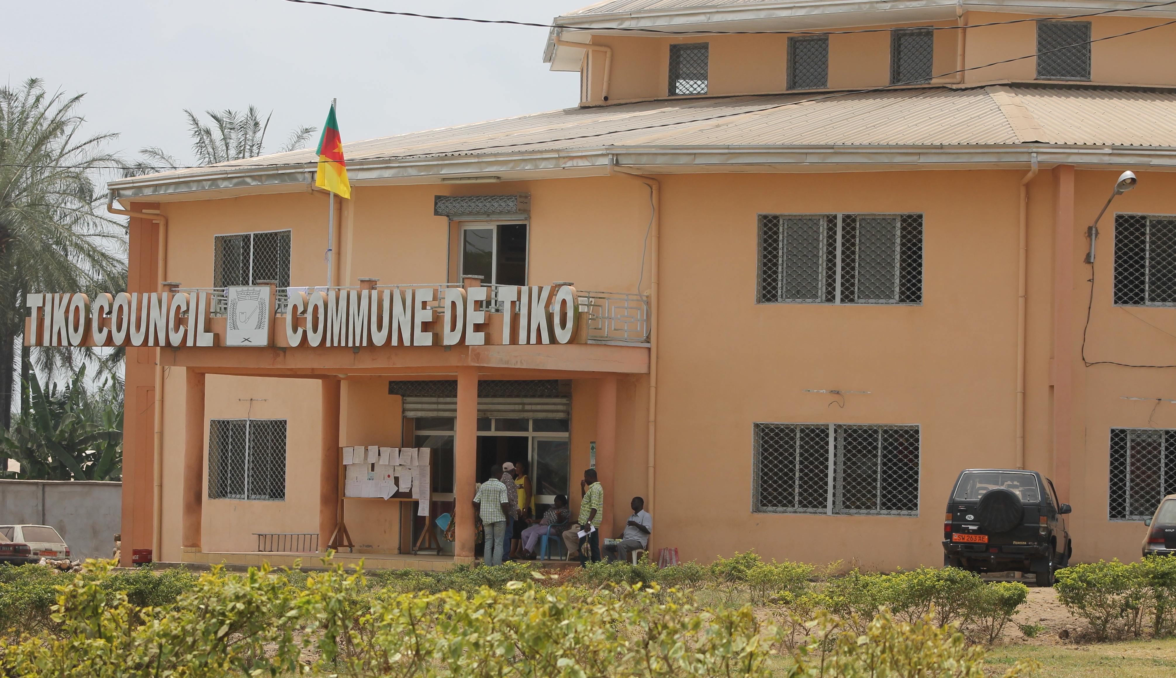 La mairie de Tiko dans le région du Sud-Ouest.
