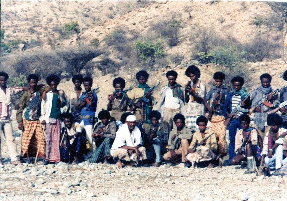 Des combattants du FRUD. Crédits photo: Sources