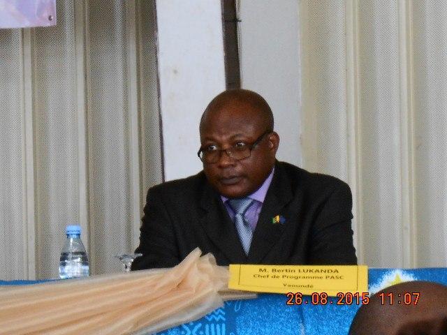 Bertin Lukanda-chef de programme PASC