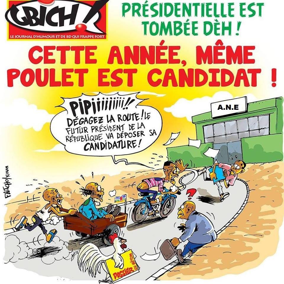 Centrafrique: Même les poulets et les rats sont candidats à l'Élection Présidentielle