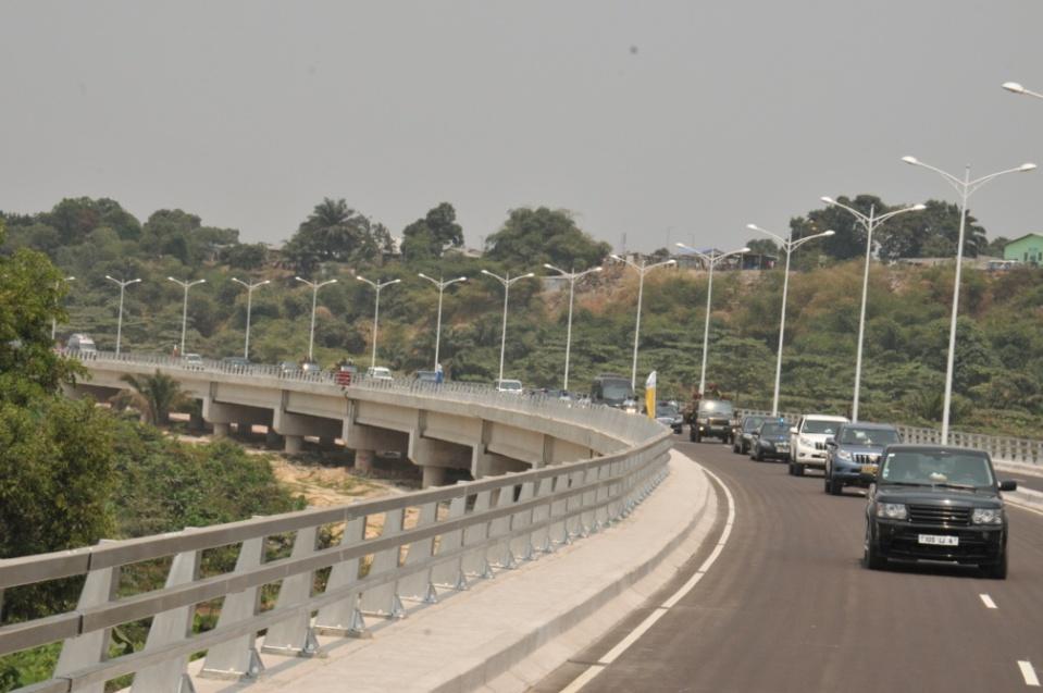 11èmes jeux Africains à Brazzaville : un acheminement de 35000 spectateurs attendus sur le viaduc nord mis en service
