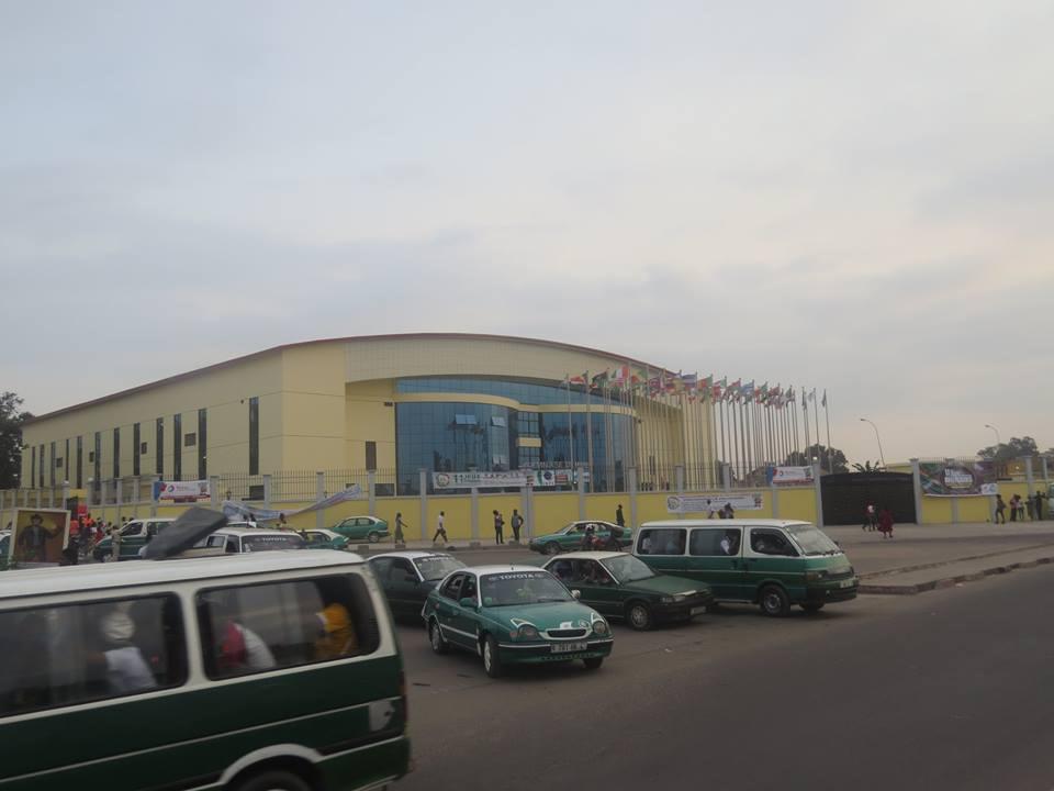11èmes jeux Africains –Brazzaville 2015 : l'environnement du centre sportif transformé par le gymnase Maxime Mantsima