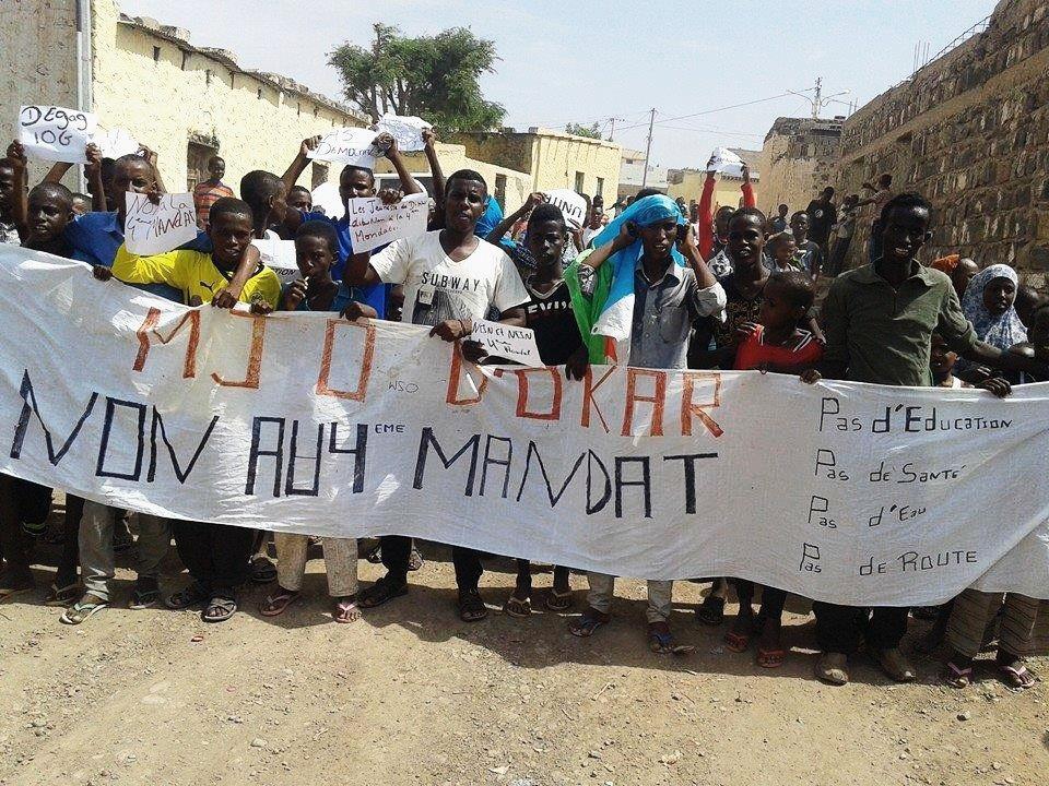 DJIBOUTI : Appel à la libération immédiate et inconditionnelle de 5 membres du MJO