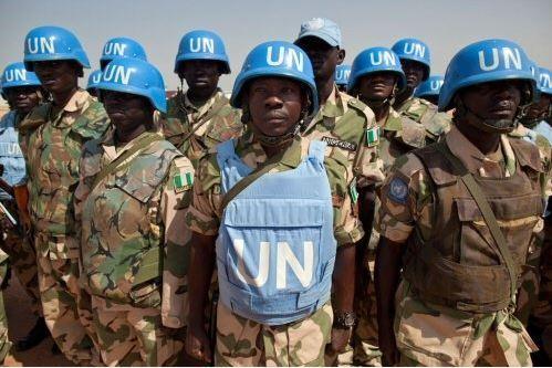 Des casques bleus de l'ONU. Crédit photo: Sources