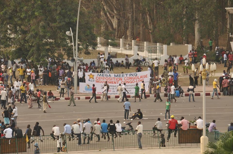 Congo Brazzaville : environ 3000 personnes  au meeting de l'opposition radicale