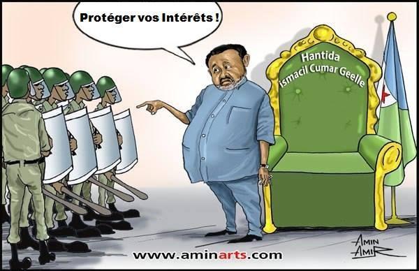 Djibouti: L'escalade de la Répression