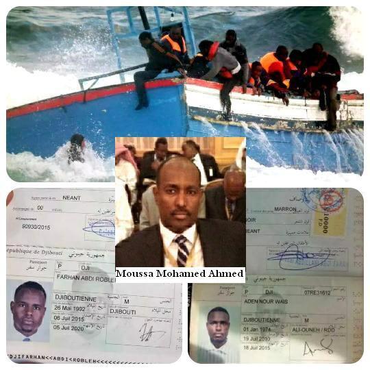 DJIBOUTI : S'exiler vif ou mort.