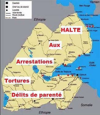 DJIBOUTI: Que cesse le délit de parenté !