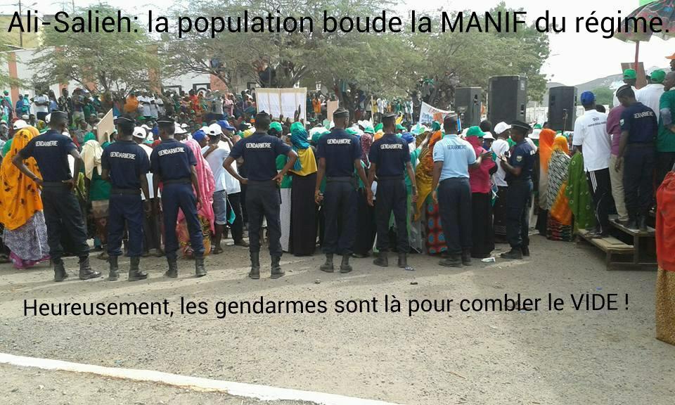 "DJIBOUTI : La ""Marche de la honte"""
