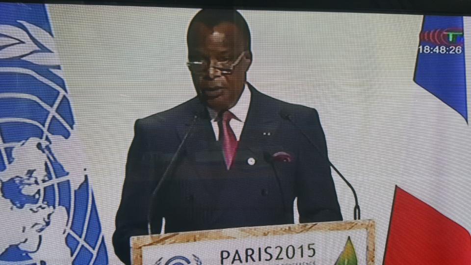 Ouverture de la COP21 à Paris: Denis Sassou N'Guesso demande aux pays pollueurs de tenir leurs engagements