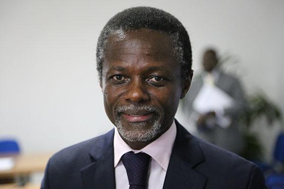 Le Représentant spécial du Secrétaire général des Nations Unies pour la République centrafricaine, Parfait Onanga-Anyanga.