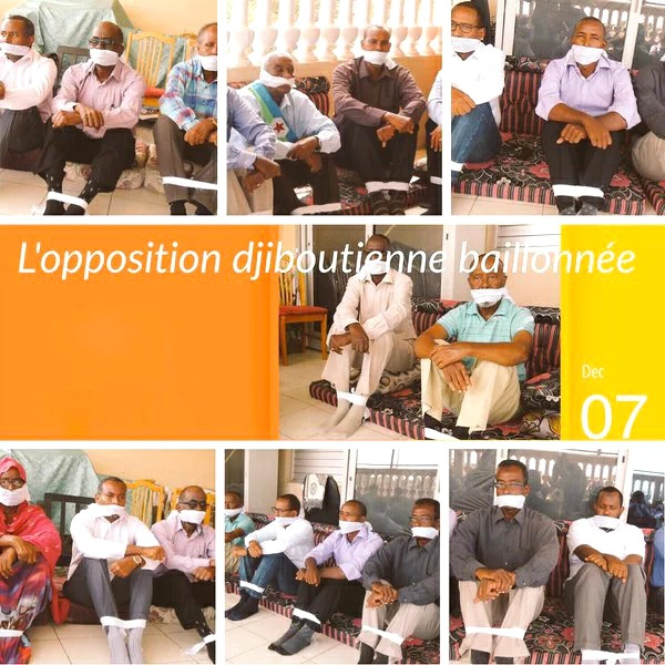DJIBOUTI : Les députés nationaux de l'opposition, plus que jamais muselés, réagissent