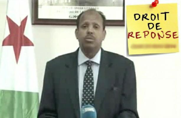 DJIBOUTI : Droit de réponse au communiqué risible du gouvernement djiboutien