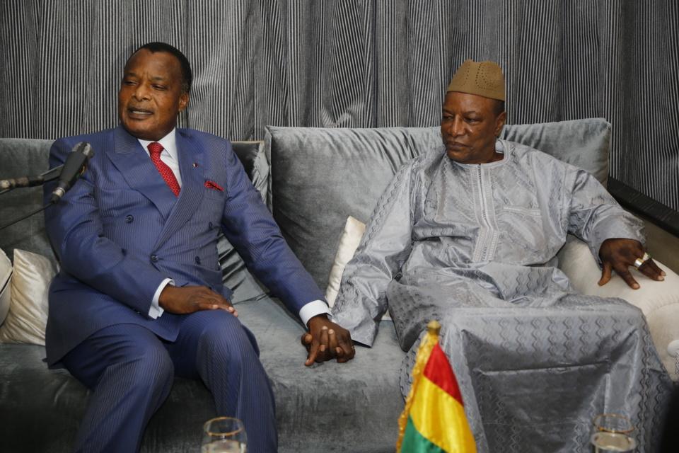 Congo/Guinée : Denis Sassou N'Guesso présent à l'investiture d'Alpha Condé
