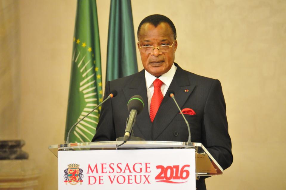 Vœux de nouvel an : 2016,  sous le signe du renouveau institutionnel et politique au Congo