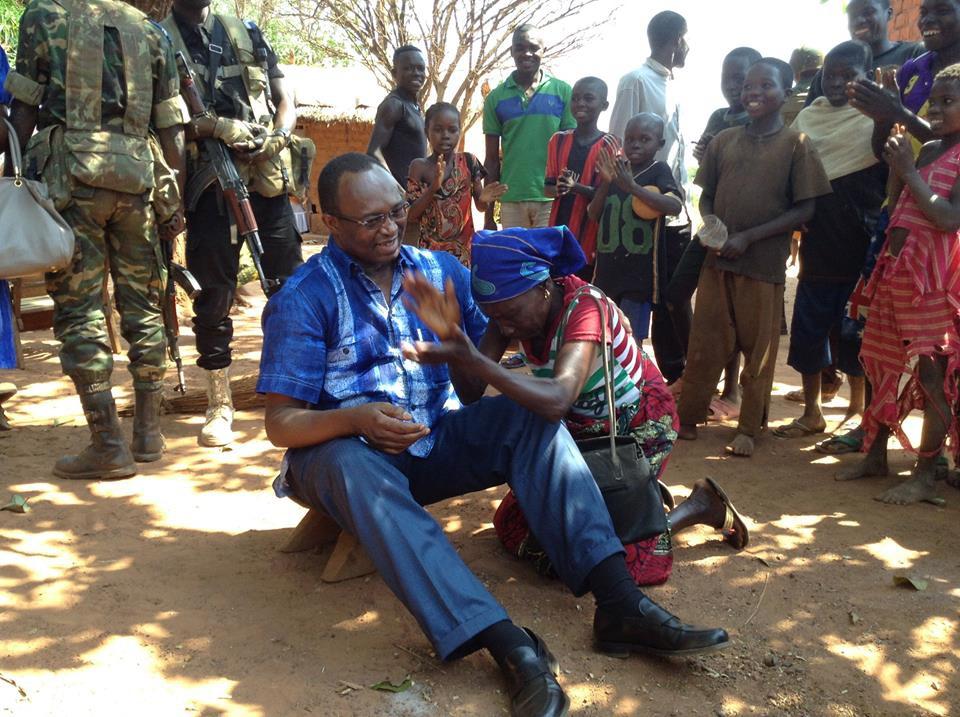 Anicet Georges Dologuélé : « la question du logement des centrafricains est pour nous fondamentale ».