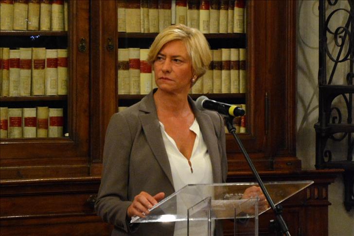 ministre italienne de la Défense, Roberta Pinotti  - credit photo