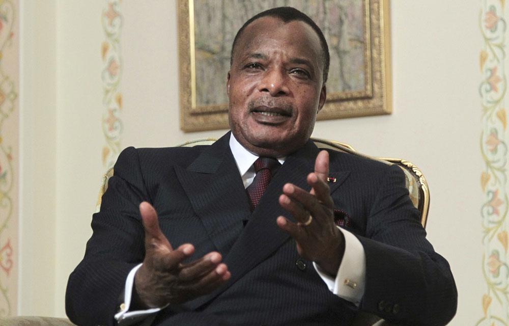 Le président du Congo, Denis Sassou-Nguesso. (Reuters)