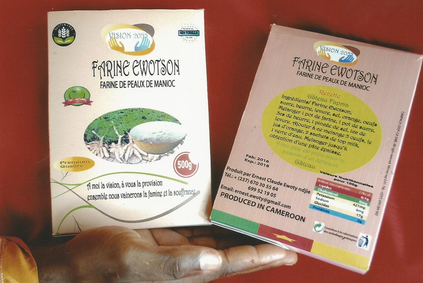 Cameroun : un pâtissier met au point  une farine originale