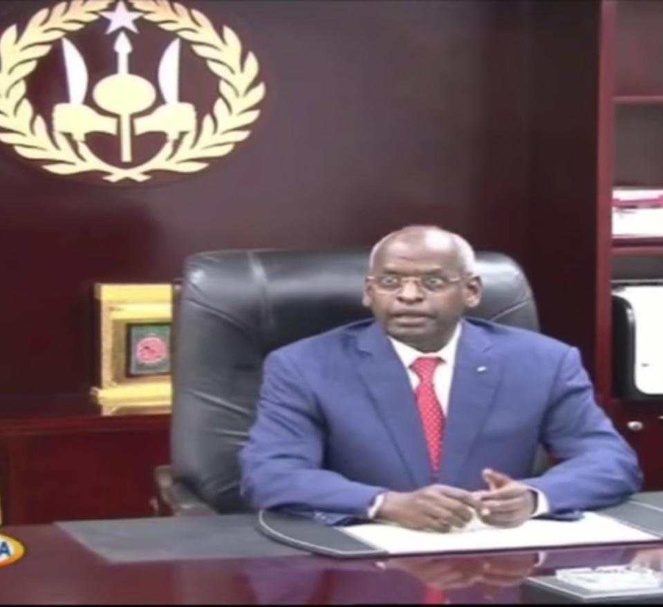 DJIBOUTI : Sieur reconduit le peu sur sa vision tellement peu