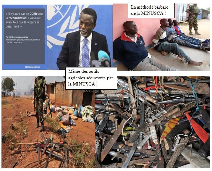 Message déterminé du CCPR à la MINUSCA, aux Autorités et à la Population Centrafricaine à propos de l'éternelle démobilisation.