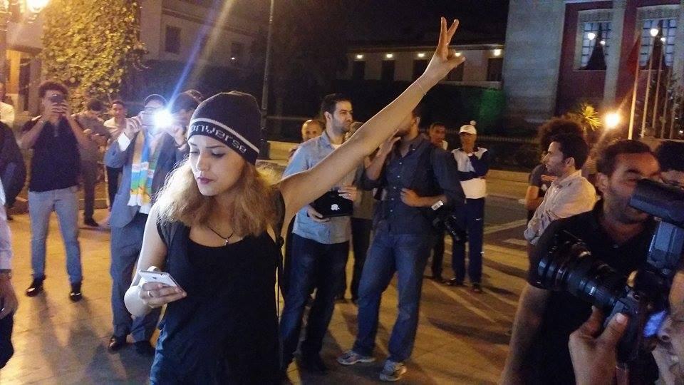 Rabat : Des Marocains protestent contre l'article 222 du code pénal