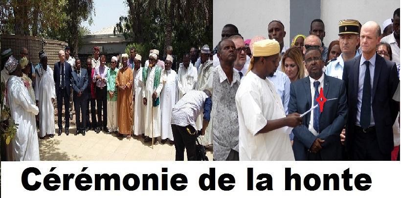 Djibouti/Cérémonie de la honte à l'ambassade de France: shame on you, ina Omar !