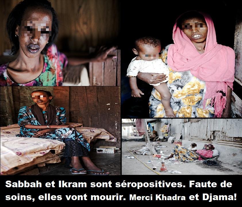 Djibouti/Non assistance à population en danger: A cause de la cleptomanie de Khadra Haid et de son poulain Djama vietnam, des djiboutiens meurent du VIH/SIDA