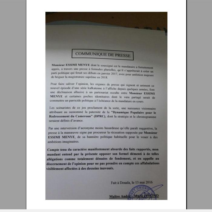 Cameroun:Vague de sanctions pour un journal dangereux !