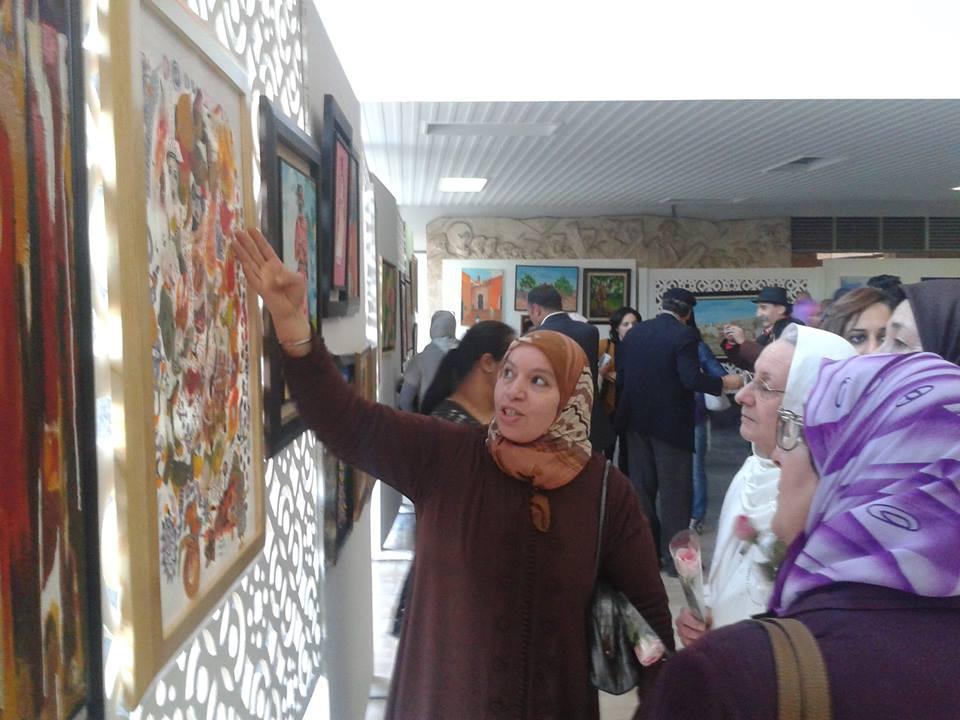 Amina Id Abdellah, un talent artistique venant d'Aghbalou