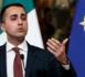 Le vice-président du Conseil des ministres italien et dirigeant du Mouvement cinq étoiles (M5S), Luigi Di Maio. © DR