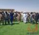 Tchad : la pelouse synthétique du stade d'Abéché prend forme !