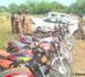 Tchad : plusieurs motos et véhicules saisis à Sarh aux heures de couvre-feu