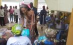 Assistance : Miss Congo au chevet des vieillards de l'Hospice Paul Kamba à Brazzaville