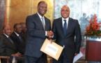 Côte d'Ivoire: Alassane Ouattara reçois l'avant-projet de la nouvelle constitution de la 3e République