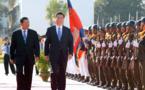Xi promotes Cambodia ties