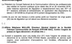 CAMEROUN - Sanctions en série contre la presse par le Conseil national de la communication