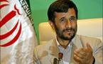 Mahmoud Ahmadinejad  'Seule la politique américaine adoptée à l'égard de l'Iran compte'