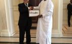 Tchad : A N'Djamena, le ministre Jean-Yves Le Drian fait ses adieux au Président Déby