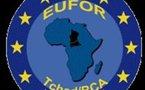 Le Président BOZIZE accueillie par l'EUFOR TCHAD-RCA