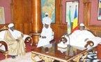 Tchad : Le Président I. DEBY a pris part à la prière à la grande Mosquée Roi Fayçal