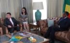 Création de la société StarTimes au Congo : le président du groupe fait le point à Denis Sassou N'Guesso.
