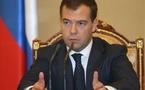 Dette de gaz : Medvedev menace l'Ukraine