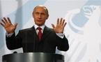 "Crise du gaz : ""On va trouver un accord"" selon Poutine"