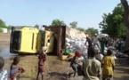 Am-Timan : Un véhicule de transport s'est renversé dans la ville