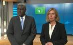 """Parlement UE : Moussa Faki blâme esclavage et exploitation, """"insulte exécrable à la dignité humaine"""""""